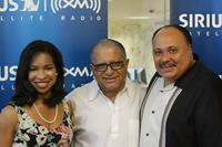 Arndrea King, Deepak Chopra and Martin Luther King III at the 10x10:100 ways to help our children charity Fundraiser.