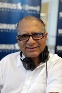 Deepak Chopra at the SIRIUS XM Studios in Thailand.