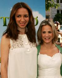 Maya Rudolph and Amy Sedaris at the premiere of