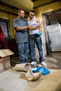 Mike Epps and Wood Harris in