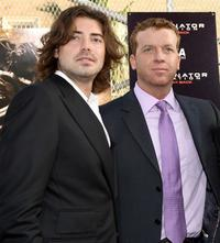 Producer Victor Kubicek and McG at the premiere of