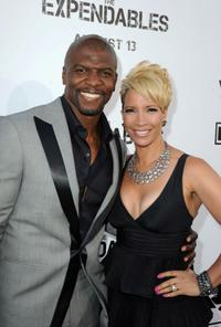 Terry Crews and Rebecca Crews at the California premiere of