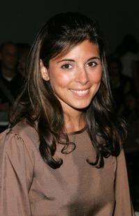 Jamie-Lynn Sigler at the J Mendel Spring 2008 Fashion Show.
