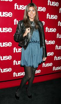 Jamie-Lynn Sigler at the Fuse TVs Grammy party.