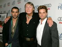 Colin Farrell, Director Joel Schumacher and Shea Whigham at the screening of