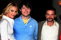 Leslie Bibb, Patrick Fugit and Shea Whigham at the after party of the premiere of