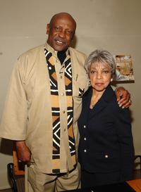 Louis Gossett, Jr. and Ruby Dee at the