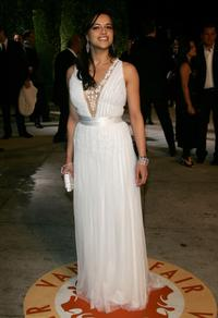 Michelle Rodriguez at the 2007 Vanity Fair Oscar Party.