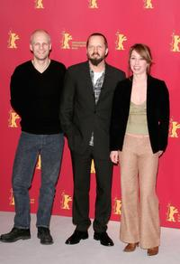 Troels Lyby, Director Jacob Thuesen and Sofie Grabol at the photocall of