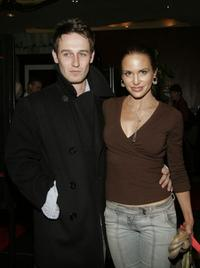 Josh Stewart and Tia Texada at the premiere of