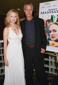 Heather Graham and Robert Baruc at the premiere of