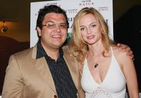 Heather Graham and Alfredo De Villa at the premiere of