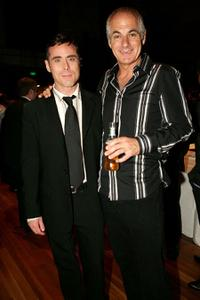 Marcus Graham and Shane Bourne at the after party of the opening night of