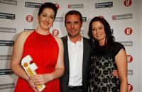 Erin White, Marcus Graham and Zyra McAuliffe at the Inside Film (IF) Awards.