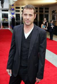 Marcus Graham at the Australian premiere of
