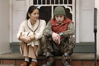Jill Hennessy as Brenda Bartlett and Rory Culkin as Scott Bartlett in