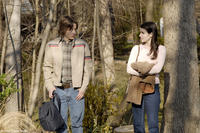Rory Culkin as Scott Bartlett and Emma Roberts as Adrianna Bragg in