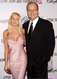Kelsey Grammer and wife Camille at the 13th Annual Elton John Aids Foundation Academy Awards Viewing Party.