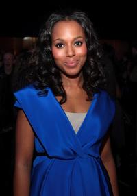 Kerry Washington at the 17th Annual Gotham Awards cocktail reception.