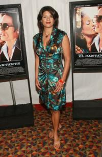 Andrea Navedo at the premiere of
