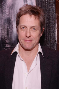 Hugh Grant at the after party for a special screening of 'The Rewrite' .