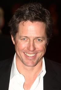 Hugh Grant at the London premiere of