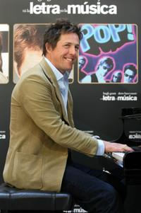 Hugh Grant at the photocall to promote his new film