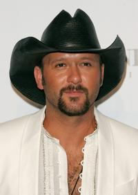 Tim McGraw at the Fashion Rocks at Radio City Music Hall.