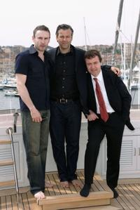 Cal Macaninch, Rupert Graves and John Sessions at the photocall of