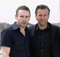 Cal Macaninch and Rupert Graves at the photocall of