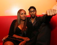 RZA and Guest at the Belvedere sponsored after party.