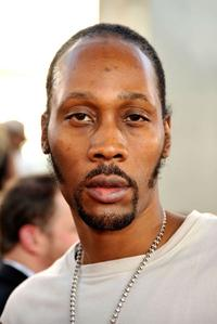 RZA at the premiere of