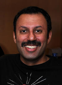 Rizwan Manji at the 2011 DPA Golden Globes Gift Suite in California.
