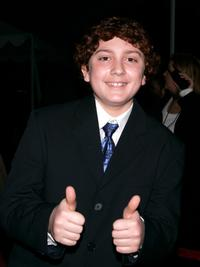 Daryl Sabara at the 31st Annual People's Choice Awards.