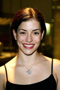 Emmanuelle Vaugier at the world premiere of