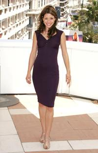Emmanuelle Vaugier at the photocall promoting