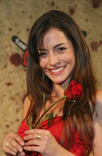 Emmanuelle Vaugier at the Fuse Fangoria Chainsaw Awards.