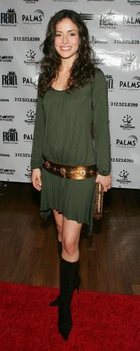 Emmanuelle Vaugier at the soundtrack release party of