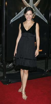 Emmanuelle Vaugier at the premiere of