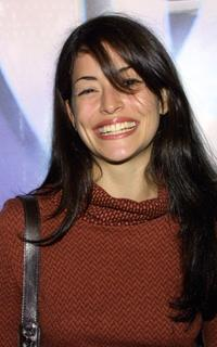 Emmanuelle Vaugier at the WB Networks 2003 Winter Party.