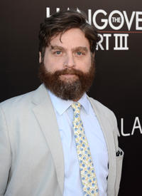 Zach Galifianakis at the California premiere of