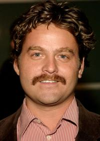 Zach Galifianakis at the premiere of