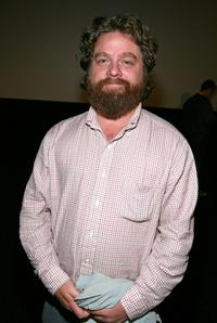 Zach Galifianakis at the 2008 AFI Fest special screening of