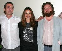 John Paulsen, Nancy De Mayo and Zach Galifianakis at the 2008 AFI Fest special screening of