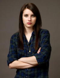 Emma Roberts at the 2009 Sundance Film Festival.