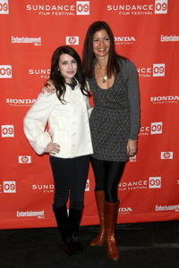 Emma Roberts and Jill Hennessy at the screening of