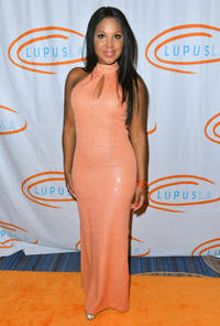 Toni Braxton at the 12th Annual Lupus LA Orange Ball in California.
