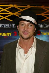 Simon Rex at the European premiere of