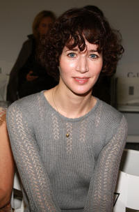 Miranda July at the Rodarte Spring 2009 fashion show during the Mercedes-Benz Fashion Week in New York.