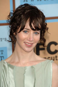 Miranda July at the Film Independent's 2006 Independent Spirit Awards in California.